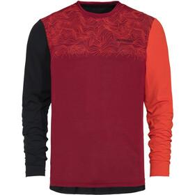 VAUDE Moab IV T-shirt à manches longues Homme, salsa